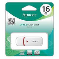 Накопичувач Apacer 16GB USB 2.0 AH333 White