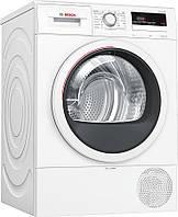 Сушильний барабан Bosch WTR85V10BY - 63 см/8кг/Heat-Pump/дисплей/А++/білий