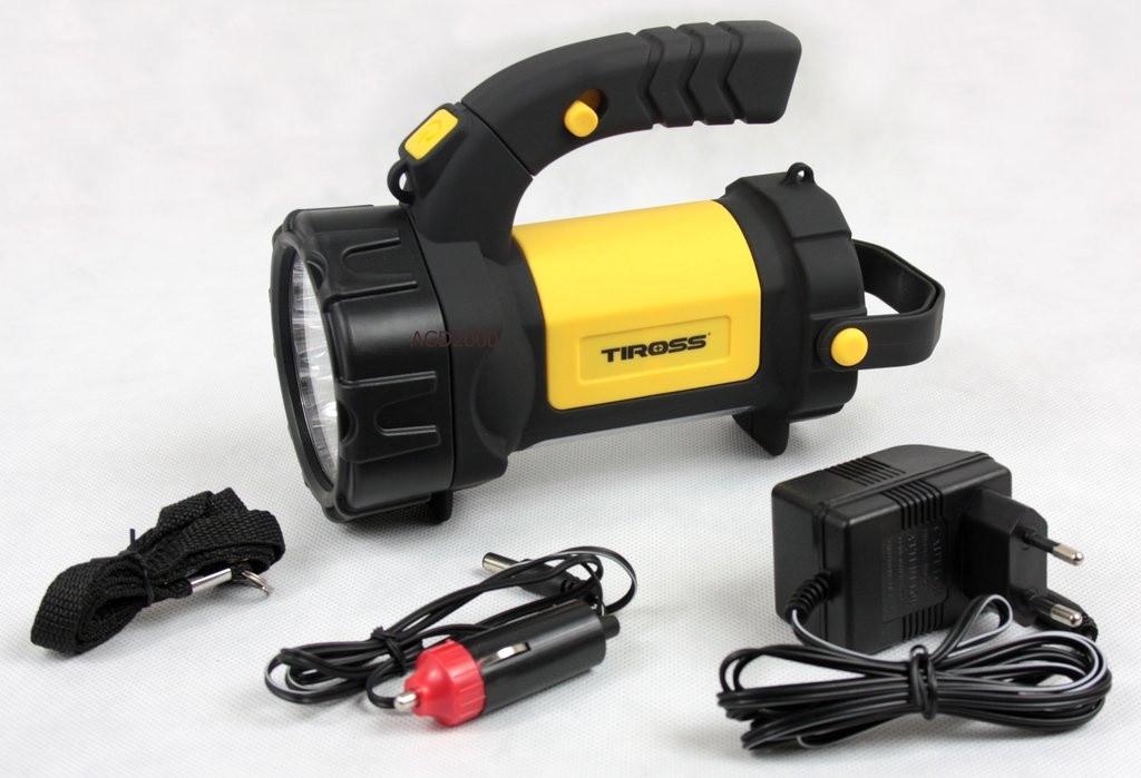 Фонарь аккумуляторный Tiross TS-1105