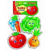 """Беби пазлы """"Овощи"""" Vladi Toys VT1106-03"""