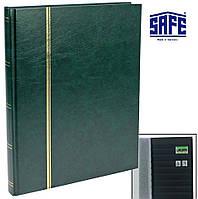 Альбом для марок SAFE - 32 страницы - А4 - чёрные страницы, фото 1