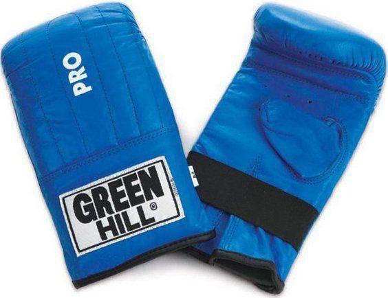"Перчатки снарядные ""Pro"" Green Hill (синий)"