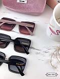 Окуляри сонцезахисні брендові під Miu Miu розмір 63-18-152, фото 5