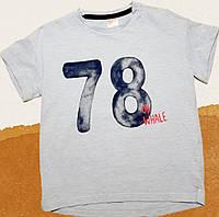 Футболка на мальчика. 86-92