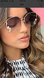 Окуляри сонцезахисні брендові під Miu Miu розмір 59-28-145, фото 2