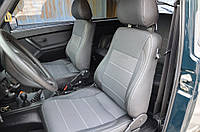 Lada Niva + Urban Авточехлы Экокожа+ткань