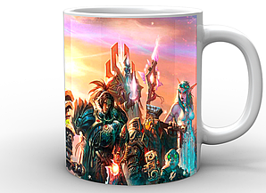 Кружка GeekLand World of Warcraft Світ Військового Ремесла всі персонажі WW.02.15