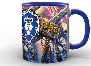 Кружка GeekLand World of Warcraft Мир Военного Ремесла альянс WW.02.20