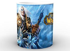 Кружка GeekLand World of Warcraft Мир Военного Ремесла принц Артас менетил WW.02.17