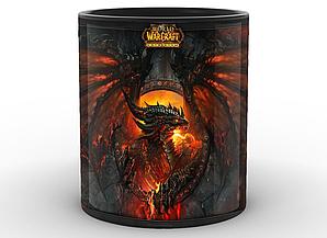 Кружка GeekLand World of Warcraft Мир Военного Ремесла смертокрыл WW.02.33