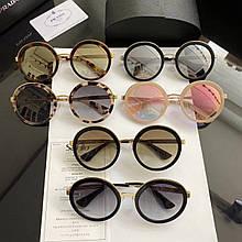 Очки солнцезащитные брендовые под Prada размер 54-23-140
