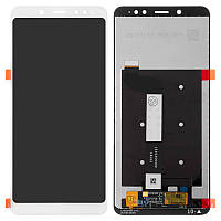 Дисплейный модуль LCD Xiaomi Redmi Note 5 + touch White Original