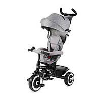 Детский трехколесный велосипед Kinderkraft Aston Grey (Киндеркрафт Астон)