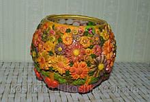 Невелика квіткова ваза