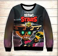 Свитшот 3D Pokko Brawl Stars, фото 1