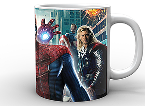 Кружка GeekLand Человек-Паук Spider-Man промо SM.02.013