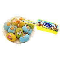 Шоколадные яйца с кремовой начинкой из лесного ореха Only 100 г