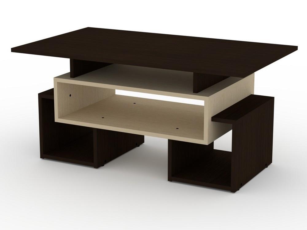 Прямоугольный журнальный стол Тандем
