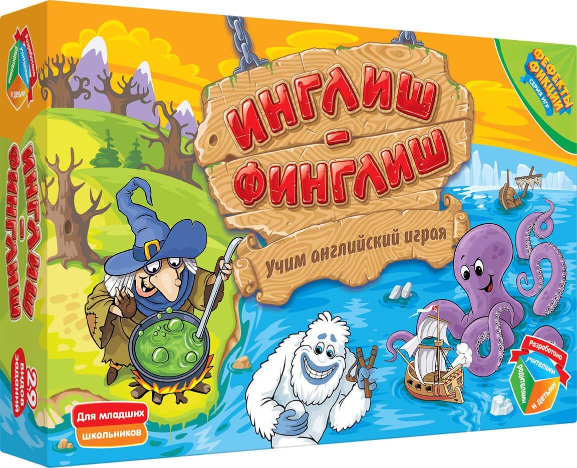 "Настольная игра ""Инглиш-финглиш"" арт.DJ-BG13"