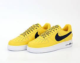 Мужские кроссовки Nike Air Force 1 Low NBA (2 ЦВЕТА), фото 2