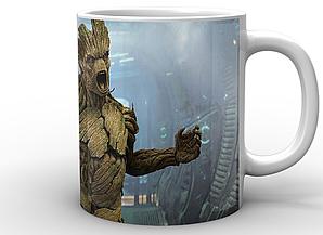 Кружка GeekLand Стражи Галактики Guardians of the Galaxy Енот и Грут GG.02.035