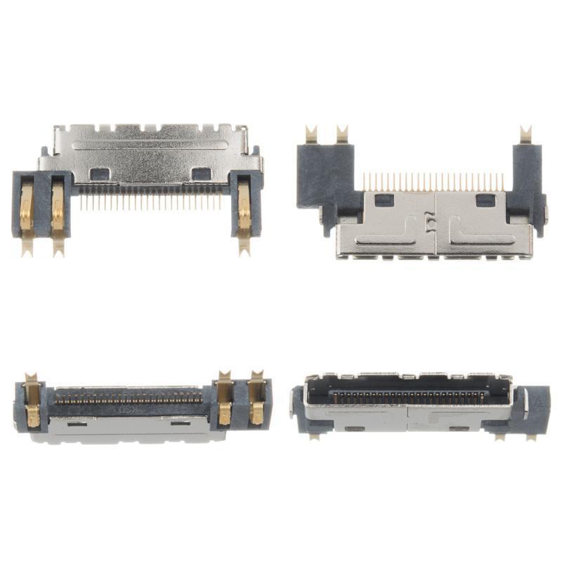 Коннектор LG 24 pin (2+1 боковых контактов) (2шт)