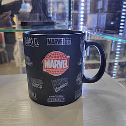 Кружка Disney Дисней керамическая 3D Марвел Marvel 70.3D