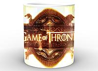 Кружка с принтом Game of Thrones Игра Престолов  заставка GT.02.009