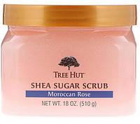 Tree Hut Sugar scrub Скраб из масла ши марокканская роза 510гр, фото 1