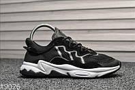 Кроссовки мужские в стиле Adidas Ozweego Black White