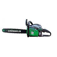 Бензопила Grunhelm GS62-18/2 (2 шины+ 2 цепи)