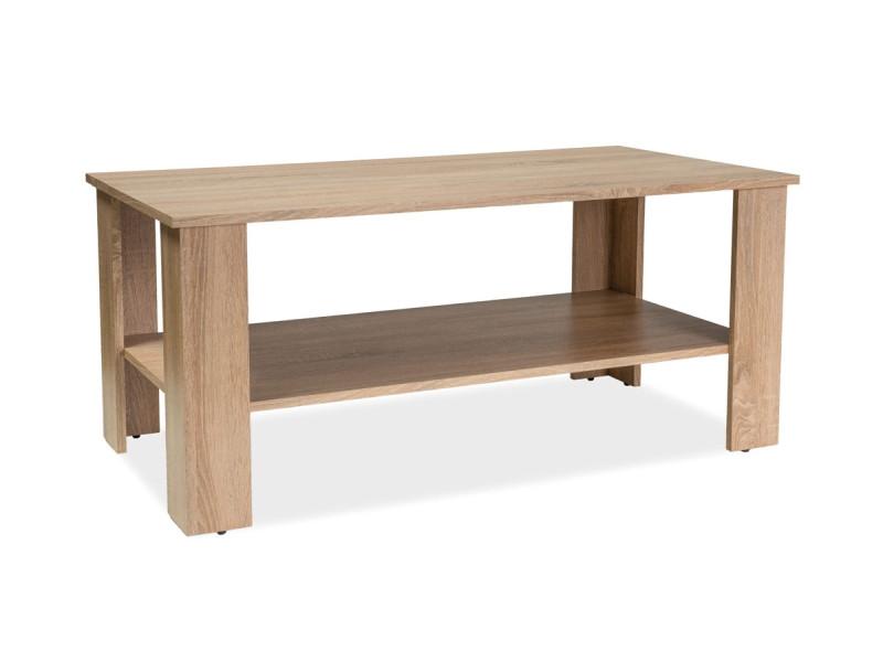 Журнальный стол ARIEL дуб сонома 110x60x50 (Signal)