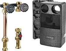 Система обвязки котла Regumat S-180 Ду25 с шаровым краном