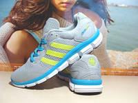 Кроссовки Adidas ClimaChill (реплика) светло-серые 41 р.