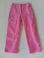 Теплые штаны для девочки  ,  р.116 ,122,128