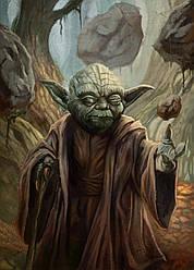 Картина GeekLand Star Wars Звёздные воины Йодаиспользует силу 40х60см SW.09.009