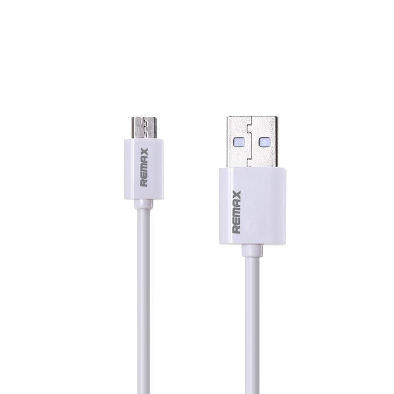 USB кабель Remax Fast RC-007m MicroUSB White 1m
