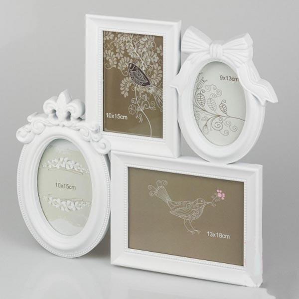 Рамки-коллажи для свадебных фотографий настенные