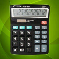 Калькулятор CITIZEN S-519