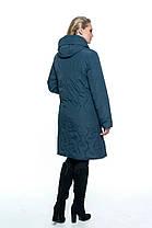 Женское пальто полу приталенного силуэта батал 54 -70 размер, фото 3