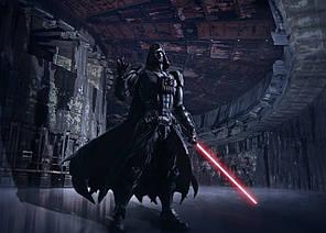 Картина GeekLand Star Wars Звёздные войны Дарт вейдер атакует 60х40см SW.09.060