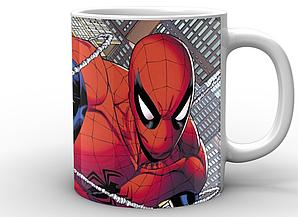 Кружка GeekLand Человек-Паук Spider-Man комикс SM.02.040
