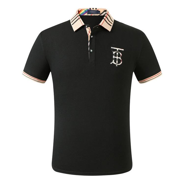 Burberry Чоловіча футболка поло барберрі
