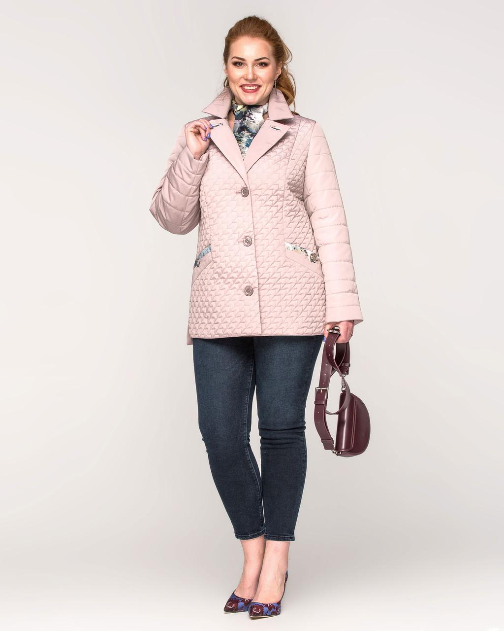 Куртка с шарфом с 48 по 60 размер Весна 2020