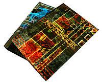 Блокноты А6 (144 листа) в клетку, твердый переплет