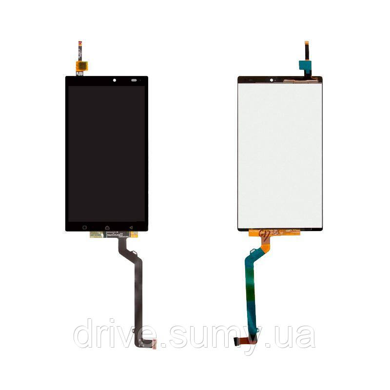 Дисплейный модуль Lenovo A7010 / X3 Lite + touch Black