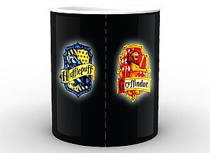 Кружка GeekLand Harry Potter  Гарри Поттер Факультеты Хогвартса HP.02.013