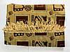 Комплект (дивандек) велюр, 140х200см, цвета в ассортименте