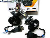 Автомобильные светодиодные LED лампы H4 Cyclone 5000K type 9 v2 комплект для авто