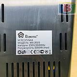 Мясорубка Domotec 2023 электромясорубка с соковыжималкой, реверс, 3000 Вт, фото 9